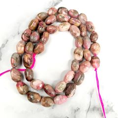 Rhodochrosite Stone Beads Strand for Fashion Women Necklace Bracelet Earrings Jewelry Making