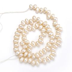 Jewelry Bulk 5-6mm Fresh Water Pearl Loose Beads Strand for Jewelry Making