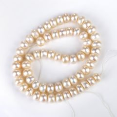 DIY Jewelry Making Beads 8-9mm Cultured Freshwater Pearl Strand