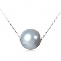 Charming 18 K Gold Pearl Pendant Jewelry without Chain for Women