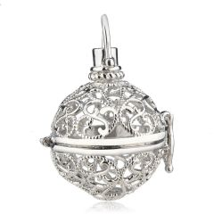 Harmony Ball Chime Bell Pendant Diffuser Cage Charm for Women Gifts