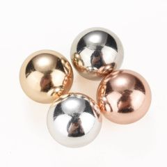 Mixed Color 16mm Copper Globe Chime Ball Harmony Relax Mediate Jingle Bell Ball For Locket Necklace