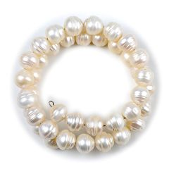 10-11mm Freshwater Pearl Double Layer Adjustable Bracelet Women Wedding Bridal Jewelry