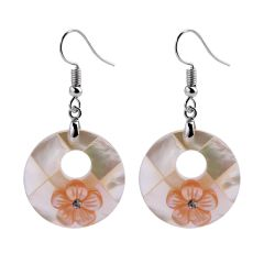 Fashion Unique Design Shell Dangle Earrings Flower for Women Jewelry