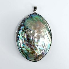 Women's Natural Abalone Shell Bead Drop Pendant Charms