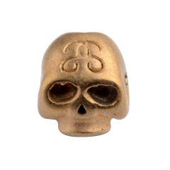 Stainless Steel Gothic Punk Skull Beads Spacer Charm Small Hole Beads For Jewelry Making DIY