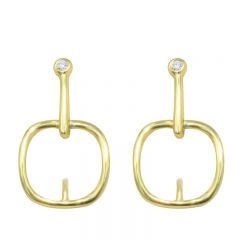 New Fashion S925 Silver Earring Pearl dangling earring Stud For Women